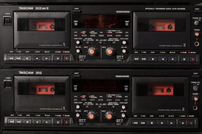 tapedub cassette duplication tascam 302