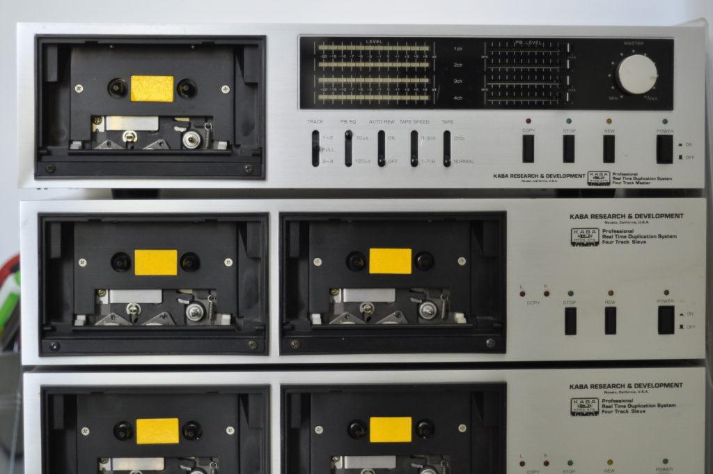 tapedub cassette duplication kaba system