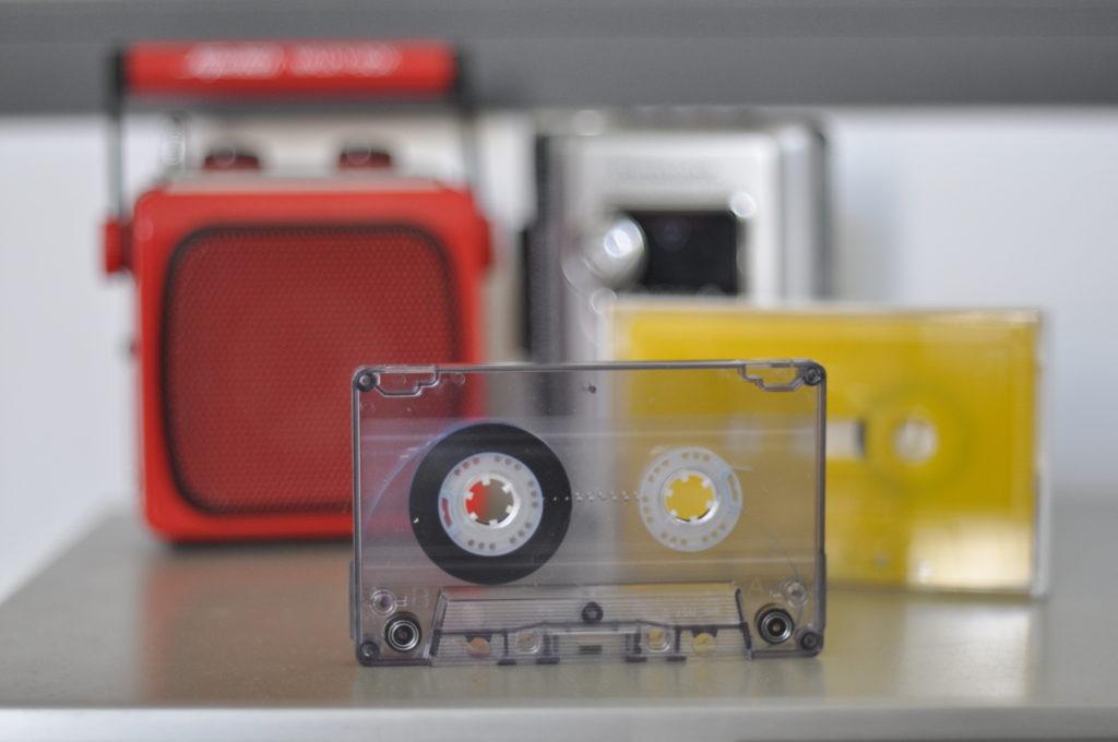 tapedub cassette duplication coloured tapes