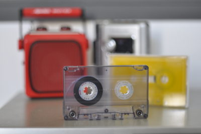tapedub cassette duplication coloured tapes