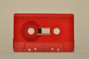 red cassette tapedub