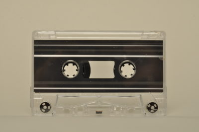 transparent cassette tapedub