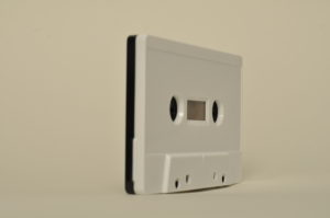bicolor black and white tapedub