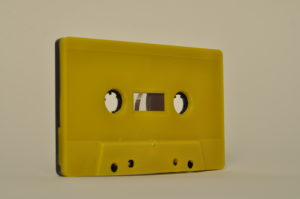 bicor yellow black cassette tapedub