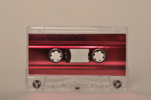 red metal inner cassette tapedub
