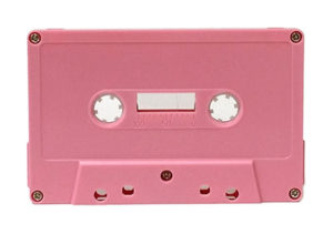 pale pink cassette tapedub