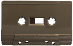 chocolate brown cassette tapedub