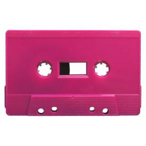 pink cassette tapedub