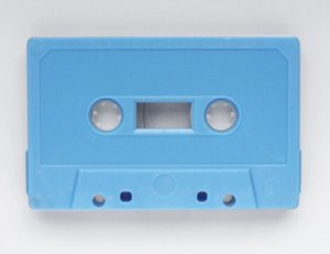 pale blue tape tapedub