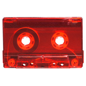 tapedub red-fluo-cassette